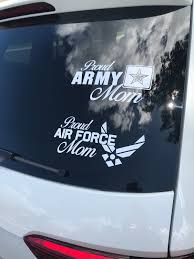 Proud Military Momnavy Momarmy Momairforce Mommarine Etsy Air Force Mom Military Mom Army Mom