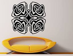 Amazon Com Celtic Cross Wall Decal Celtic Knot Decals Wall Vinyl Sticker Abstract Art Design Nice Picture Murals 21cel2t Kitchen Dining