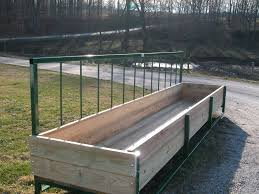 Fence Line Bunk Feeders Wabash Valley Enterprises