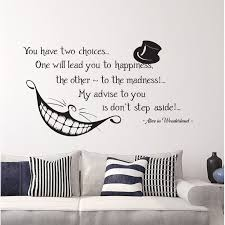 Decal House Alice Quote Wall Decal Wayfair