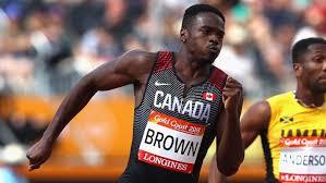 Sprinter Aaron Brown eases into season, plans to peak at world ...