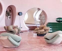 "Abigail Bell Vintage on Instagram: ""Pierre Cardin's Palais Bulles (Bubble  Palace) 📷 unknown via… in 2020   Futuristic interior, Retro interior,  Interior design living room"