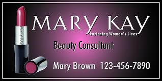 Mary Kay Full Color Vehicle Magnets Style B