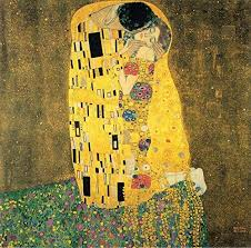 Amazon Com The Kiss By Gustav Klimt Wall Decal Peel Stick Removable 24 X 24 Home Kitchen