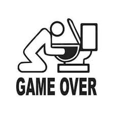 Game Ostyle Toilet Jdm Car Decal Sticker