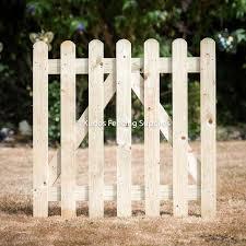 Garden Picket Gates Bespoke Options Buy Online Uk Delivery