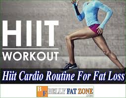 hiit cardio routine for fat loss 30