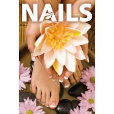 Nails Salon Decor Window Art
