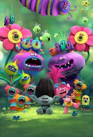 8 46 Aud Trolls Movie Cast Poster Poppy Musical Animation