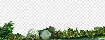 garden rocks leaf stone grass png
