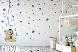Star Wall Decals Star Decals Star Wall Stickers Nursery Etsy Kids Room Wall Decals Nursery Wall Stickers Kids Wall Decals