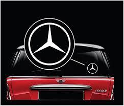 Mercedes Benz Window Decal Sticker Custom Sticker Shop