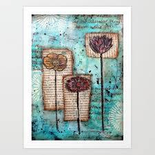 emily s garden art print by