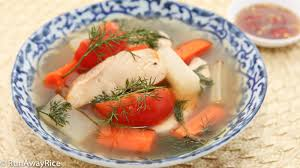 Fish Soup with Dill (Canh Ca Thi La ...