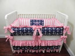 nautical girl crib bedding set tori