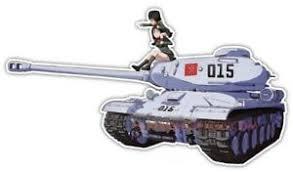 Girls Und Panzer Anime Jdm Car Window Decal Sticker 015 Ebay