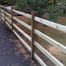 Mortice Post Scarf Rail Fencing Pressure Treated Free Delivery Available