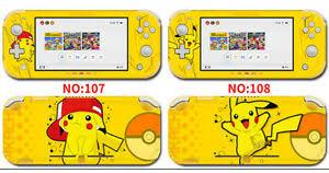 Vinyl Decal Skin Sticker Protector For Nintendo Switch Lite Pikachu S2 Ebay