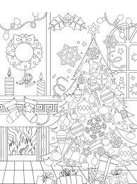 Kids N Fun Kleurplaat Kerstmis Voor Volwassenen Kerstmis Voor
