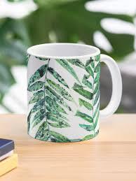 Fern Leaf Mug By Samnagel Redbubble