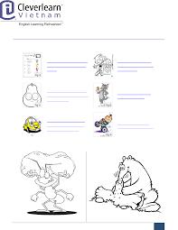 Tranh tô màu từ điển các loài động vật cho trẻ em - [PDF Document]