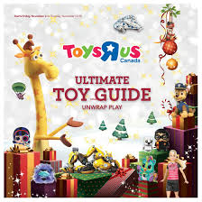2018 toysrus canada holiday catalogue