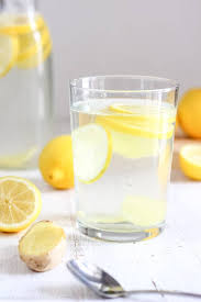 body cleansing lemon ginger water