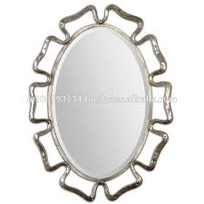 oval vintage wall mirror for home decor