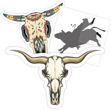 Cowboys Cowgirls Rodeo Stickers Decals More