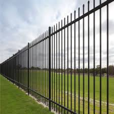 China Simple Aluminum Iron Metal Fence Gate Design For House China Fence Steel Fence