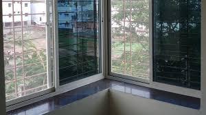 aluminium corner window frame double