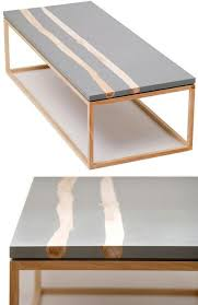 resin inlaid accent tables show off