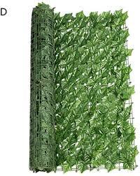 Amazon Com Per Newly Artificial Faux Ivy Leaf Decorative Fence Screen Decorative Trellis Privacy Screen Mesh Privacy Hedge Screen For Outdoor Decor Garden Yard 20 L X 118 W Garden