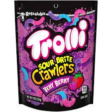 trolli sour brite crawlers 9 oz bag