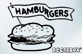 Fast Food Decals Stickers Decalboy