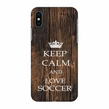 amzer keep calm love soccer wooden