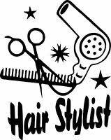 Nail Techicians Rock Beauty Hair Salon Car Truck Window Wall Vinyl Decal Sticker