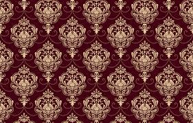 ornament style vine burgundy
