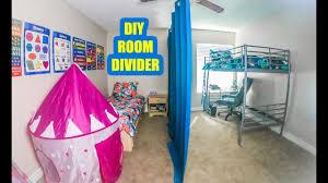 Easy Diy Sliding Room Divider Youtube