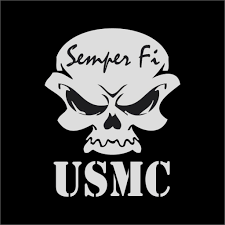 Us Marines Usmc Skull Semper Fi Military And 12 Similar Items