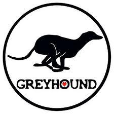 Greyhound Car Decal Greyhound Vinyl Sticker Ebay