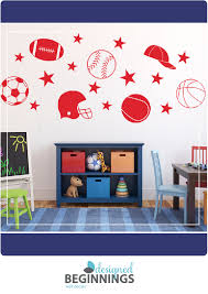 Sports Decals Kids Wall Stickers For Boys Sports Stickers Etsy Boys Wall Stickers Removable Vinyl Wall Decals Wall Stickers Kids