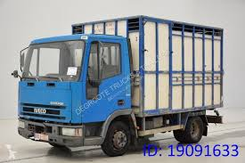cattle truck used iveco 65e14 sel