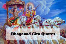 bhagavad gita quotes is not just conversation in the war time