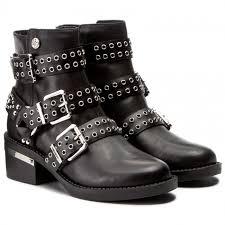 boots guess fifii flfif3 lea10 black