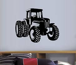 Amazon Com Tractor 2 Boys Room Wall Decal Home Decor 22 X 28 5 Everything Else