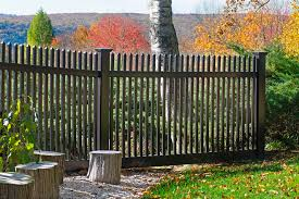 Black Pvc Vinyl Picket Fence From Illusions Vinyl Fence Traditional Landscape New York By Illusions Vinyl Fence