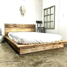 pallets bed wooden pallet diy