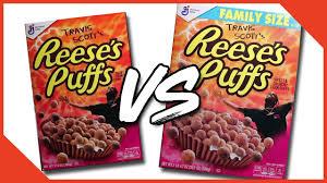 travis scott reese s puffs regular vs