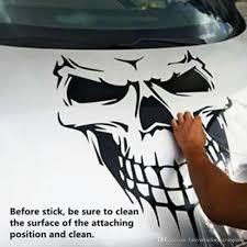 2020 Halloween Car Sticker Skull Skeleton Car Hood Decal Rear Vinyl Side Door Sticker For Car Window Ups Dhl From Fanyutrading Company 1 2 Dhgate Com